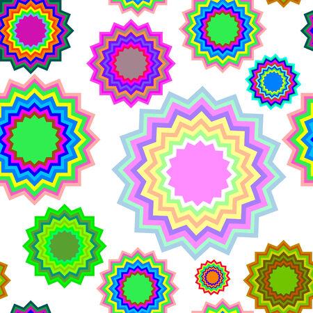 seamless geometric pattern, vector art illustration Vector