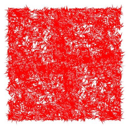red spin texture, vector art illustration Ilustrace