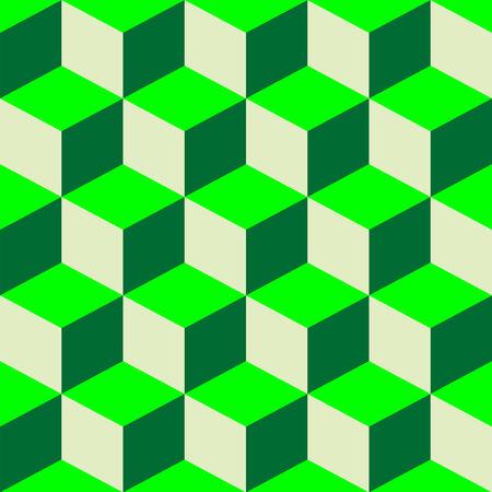 psychedelic pattern, mixed green, vector art illustration Иллюстрация