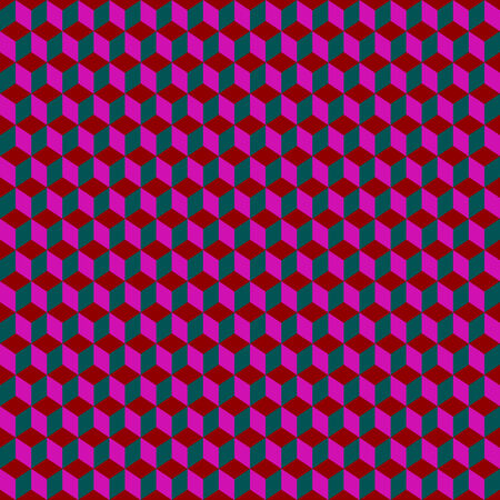 psychedelic squares pattern, vector art illustration; more patterns and textures in my gallery Stock Vector - 6110588