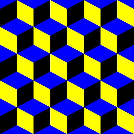 squares psihedelic pattern, vector art illustration; more patterns and textures in my gallery