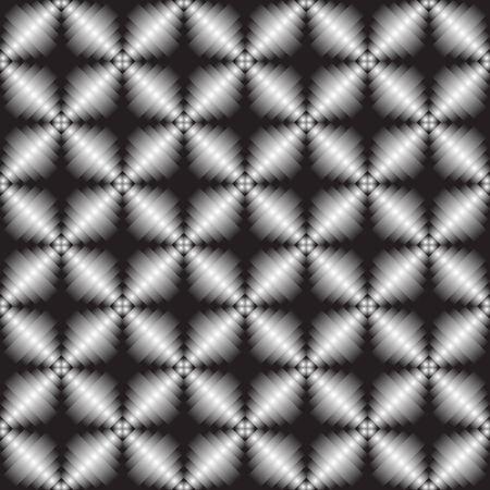 metallic geometric seamless texture, vector art illustration