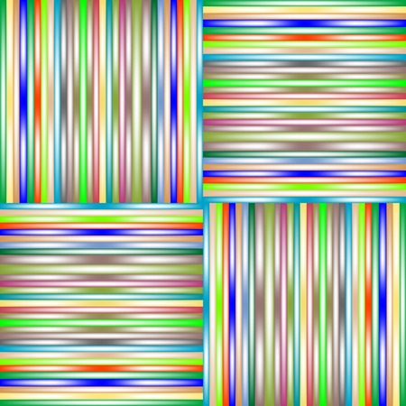 lighted stripes 3, vector art illustration; more stripes and textures in my gallery Stock Vector - 6110617