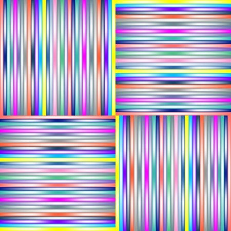 lighted stripes 2, vector art illustration; more stripes and textures in my gallery Stock Vector - 6110618