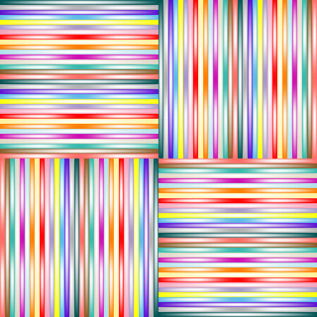 lighted stripes 1, vector art illustration; more stripes and textures in my gallery Stock Vector - 6110616