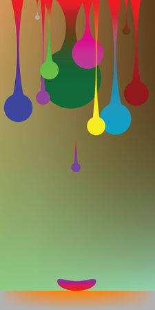 vecotr: gravity bubbles, vecotr art illustration