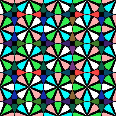geometric seamless pattern, vector art illustration Stock Vector - 6130374