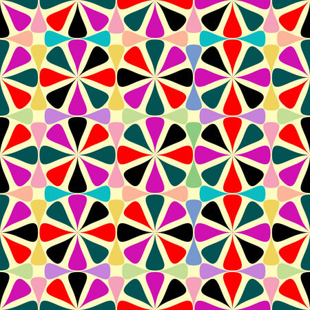 geometric seamless pattern, vector art illustration Stock Vector - 6130378