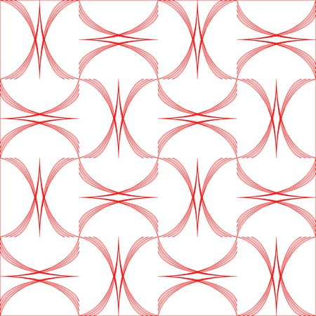 arcs: geometric arcs pattern, vector art illustration; easy to modify the colors Illustration
