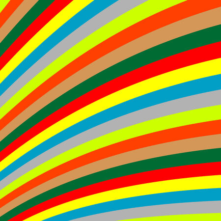 colored stripes, vector art illustration Vector