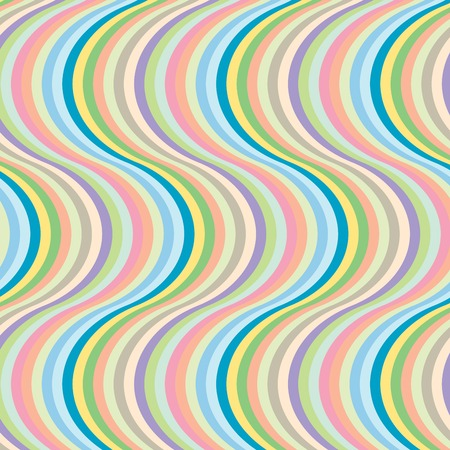 Big wave stripes, vector art illustration, more stripes and textures you can find in my gallery. Banque d'images - 6130670