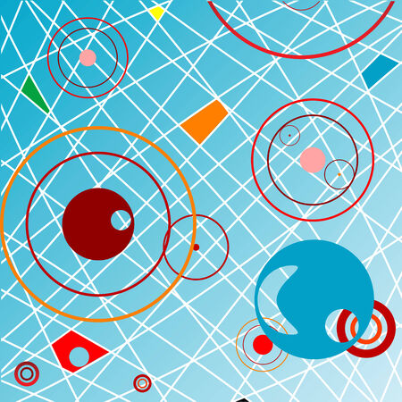 abstract objects, vector art illustration; more drawings in my gallery Stock Vector - 6159649
