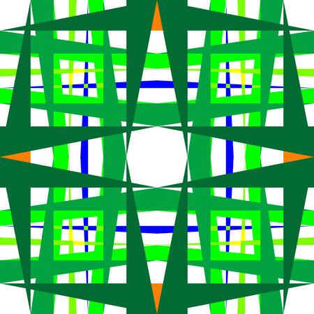 Formes géométriques abstraits, vecteur art illustration ; textures plus dans ma galerie Banque d'images - 6159653