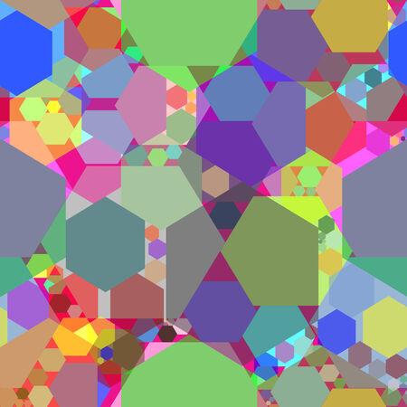 kaleidoscope abstract texture, art illustration Stock Vector - 6177172