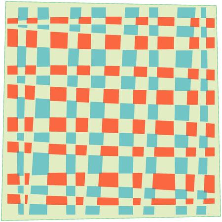 handkerchief, abstract art illustration Stok Fotoğraf - 6177182