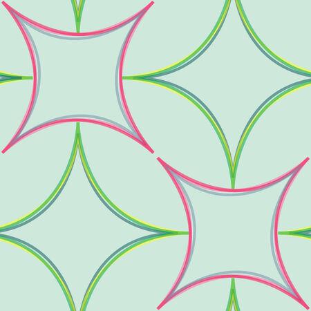 durability: geometric abstract seamless pattern, vector art illustration