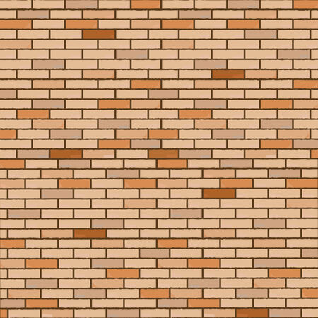 ordinary: wall made of bricks, realistic texture, abstract art illustration