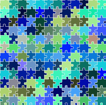seamless puzzle texture, abstract art illustration