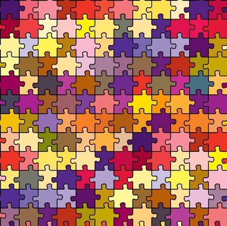 seamless puzzle texture, abstract art illustration