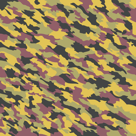 camouflage texture, abstract art illustration Vector