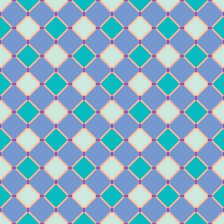 tiles: rectangular blue texture, abstract art illustration Illustration