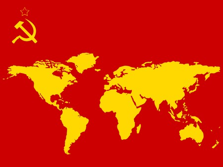 russian flag: russian flag colors and worlds map,