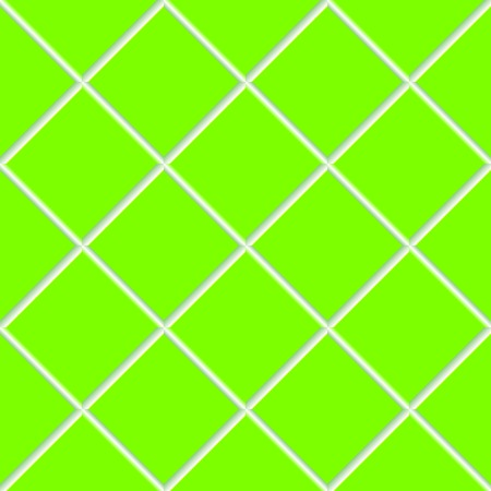 green seamless ceramic tiles, abstract texture, art illustration Vector