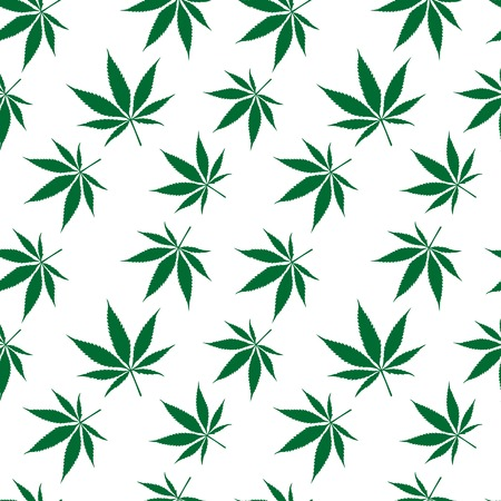 cannabis seamless pattern extended, abstract texture, art illustration