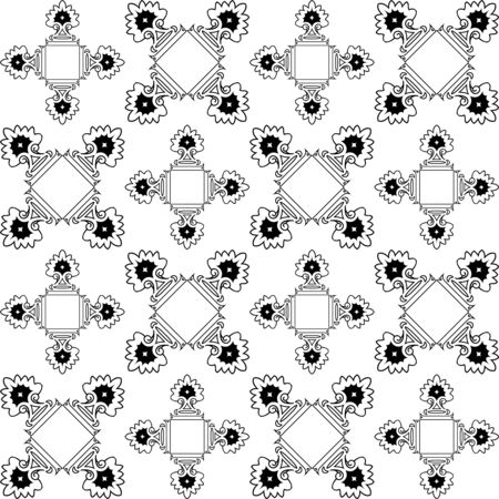 repetitive monochromatic texture, abstract pattern, art illustration