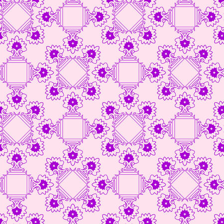 abstract purple seamless texture, geometric pattern,  art illustration