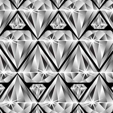 diamonds pattern, abstract  art illustration Фото со стока - 7068450