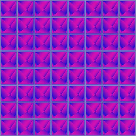 purple pyramids texture, abstract seamless pattern,  art illustration