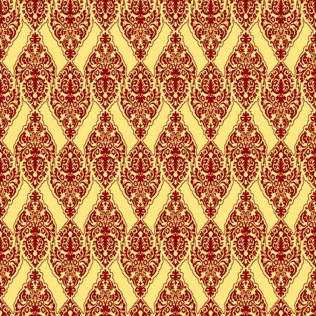 rode ademd textuur, abstracte naadloze patroon, kunst illustratie  Stock Illustratie