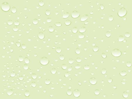 water green drops pattern, abstract art illustration Illustration