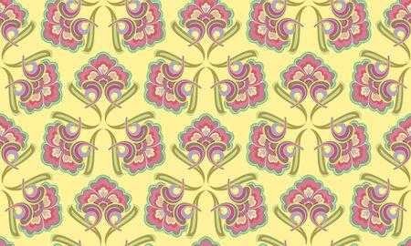 retro seamless texture, abstract pattern,  art illustration Vector