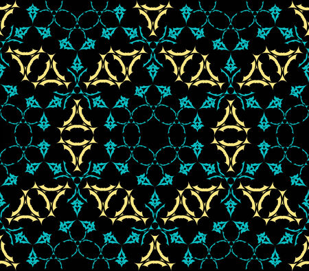 geometric seamless texture, abstract pattern,  art illustration Stock Vector - 7116291