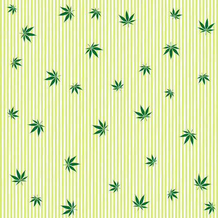 cannabis rain concept, abstract background Stock Vector - 7231575
