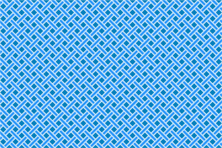 gridlock: blue seamless diagonal mesh Illustration