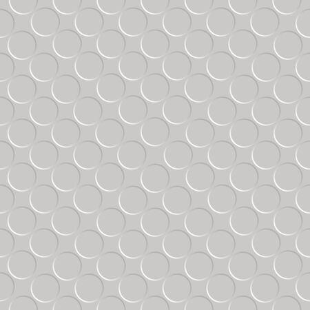 metallic seamless circle pattern Stock Vector - 7261395
