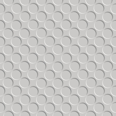 shadowed: metallic shadowed circle pattern