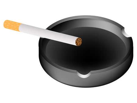 carcinogen: Cenicero y cigarrillos
