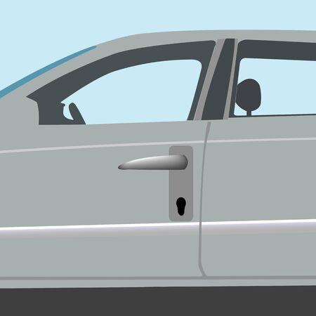 auto locker, abstract art illustration illustration