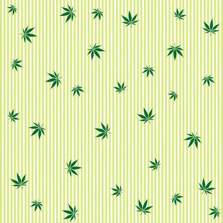 cannabis rain concept, abstract background, art illustration illustration