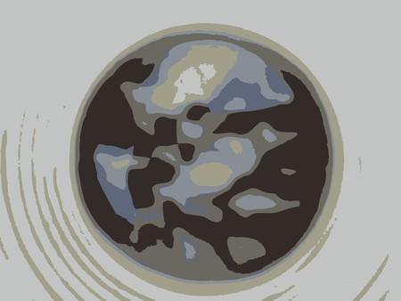 stylized coffee, art illustration Stock Illustration - 7323580