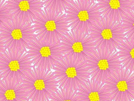 flowers pattern, art illustration illustration