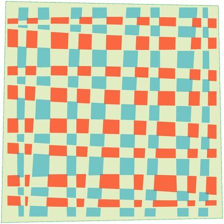 handkerchief: handkerchief, abstract art illustration