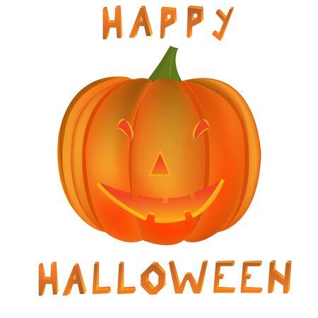happy halloween pumpkin, art illustration illustration