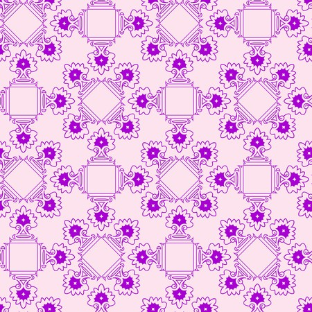 dichromatic: abstract purple seamless texture, geometric pattern, art illustration
