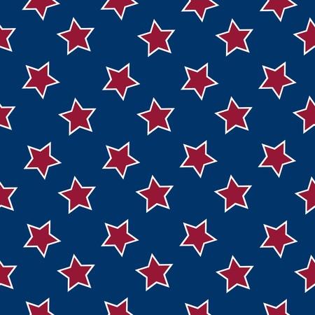american flag stars background, abstract seamless pattern,  art illustration