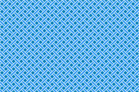 gridlock: blue seamless diagonal mesh, abstract   art illustration